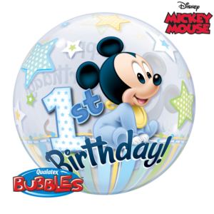 bubbles mickey 1 an la ballonnerie