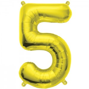 "Ballon aluminium or ""5"" 16"""