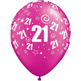 Ballon Latex 21 ans