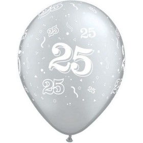 Ballon Latex 25 ans