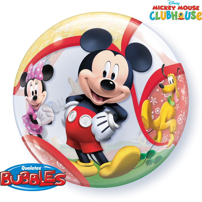 bubble mickey mouse la ballonnerie