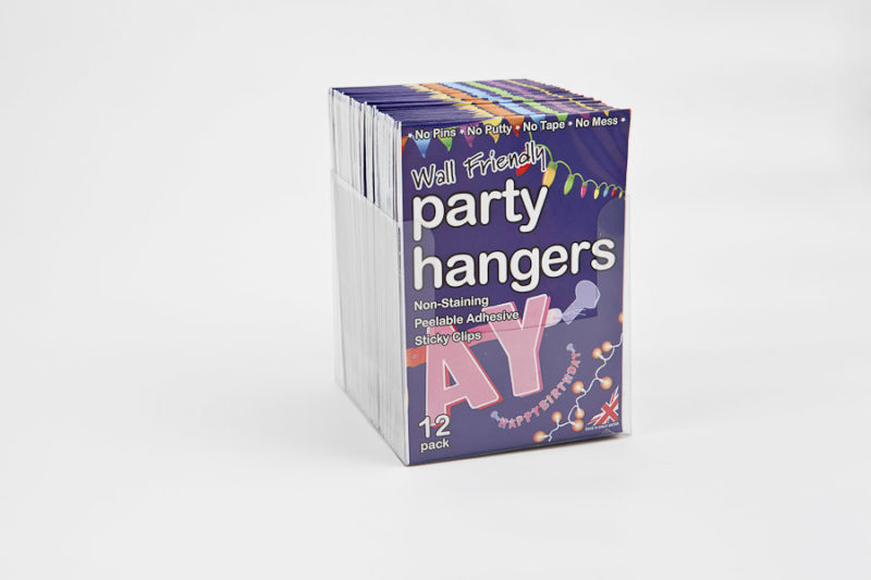 Party Hangers Counter Display