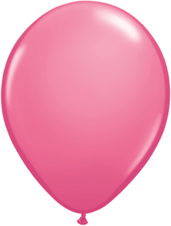 Ballons latex rose la ballonnerie