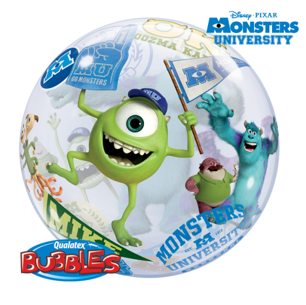 ballons bubbles monsters university la ballonnerie