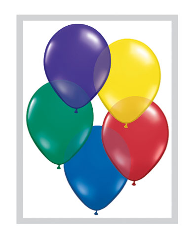Ballons latex multi couleurs la ballonnerie