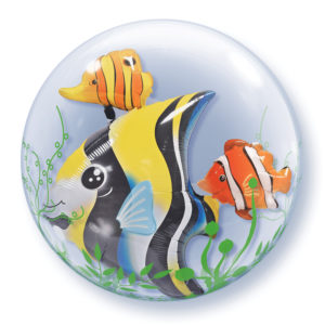 double bubble la ballonnerie poisson