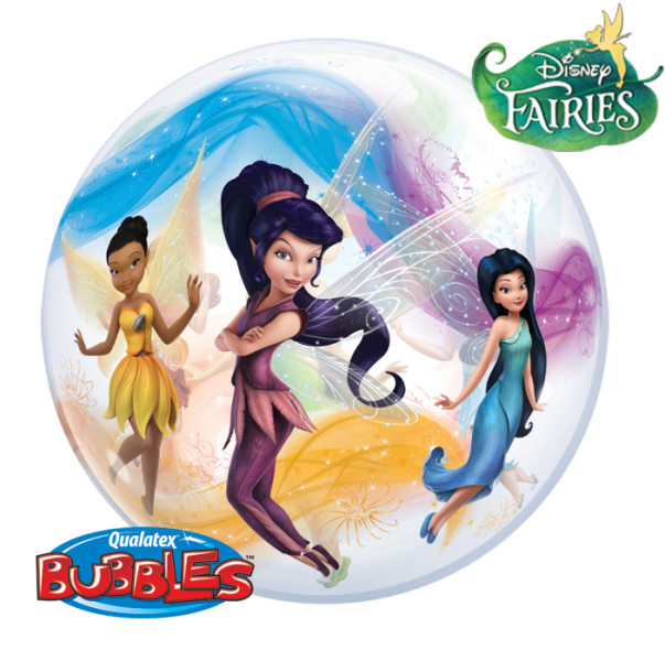 ballons bubbles disney fairies la ballonnerie