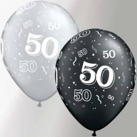 Ballon Latex 50 ans