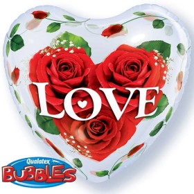 Saint valentin Love-Roses-Bubble-coeur-